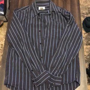 Armani exchange button down shirt